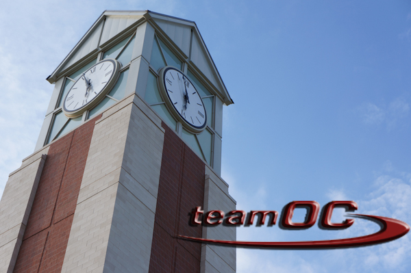 Team OC works to bring about healthier lifestyles on campus. Talon Original Graphic.