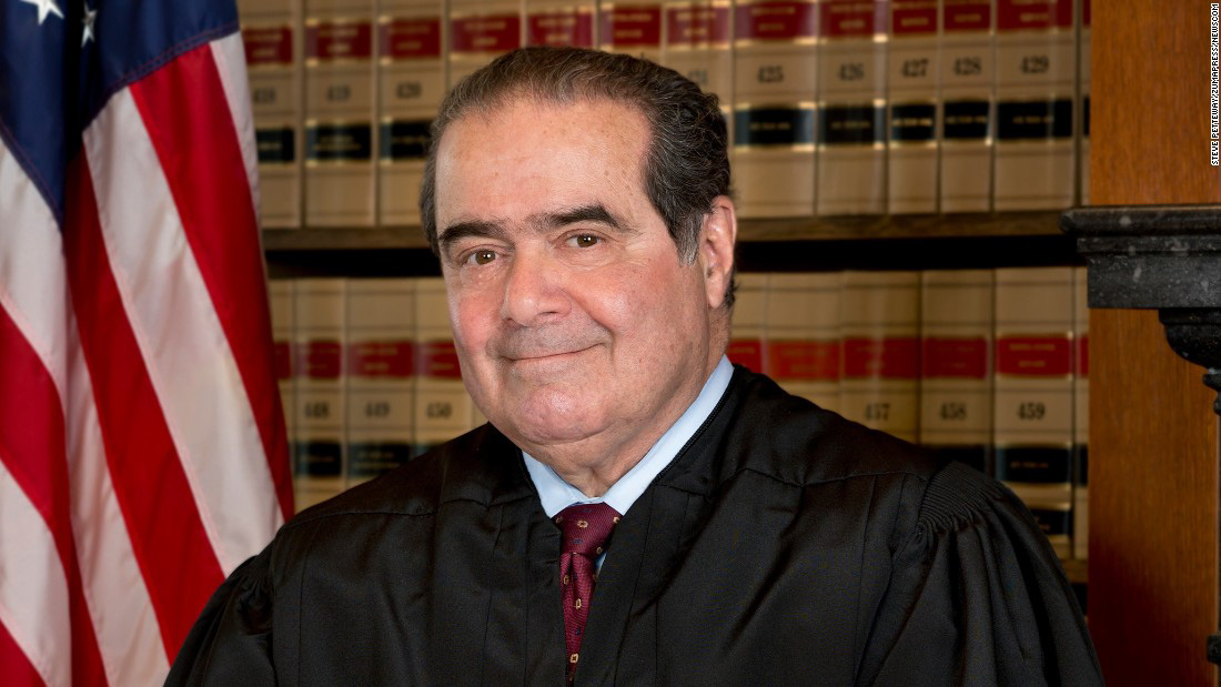 Supreme Court Justice Antonin Scalia died on Feb. 13 in Texas. Online photo