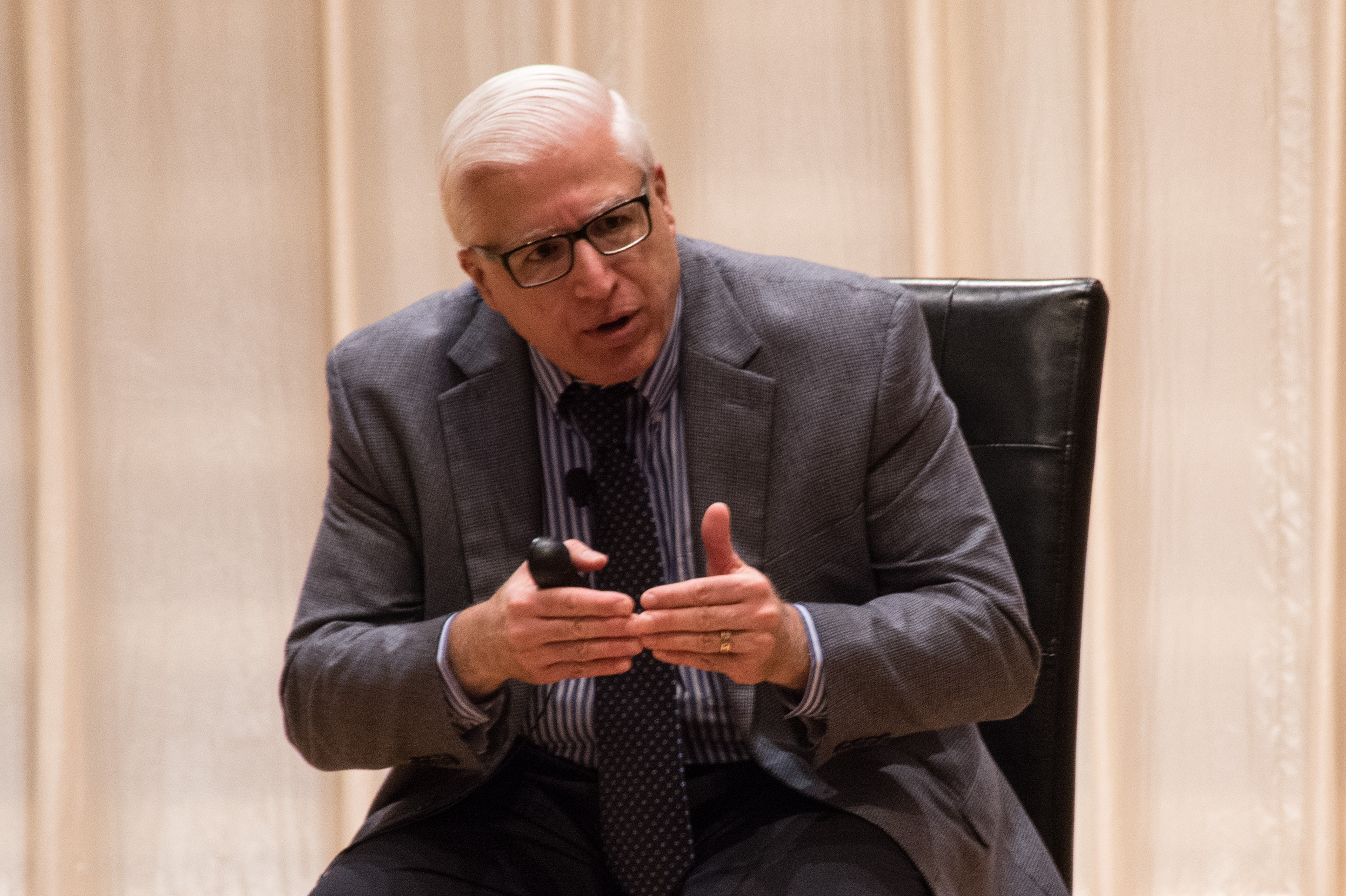 John Roberto spoke as a part of the IFC Dialouges on Monday night on intergenerational ministry. Photo by Abby Bellow.