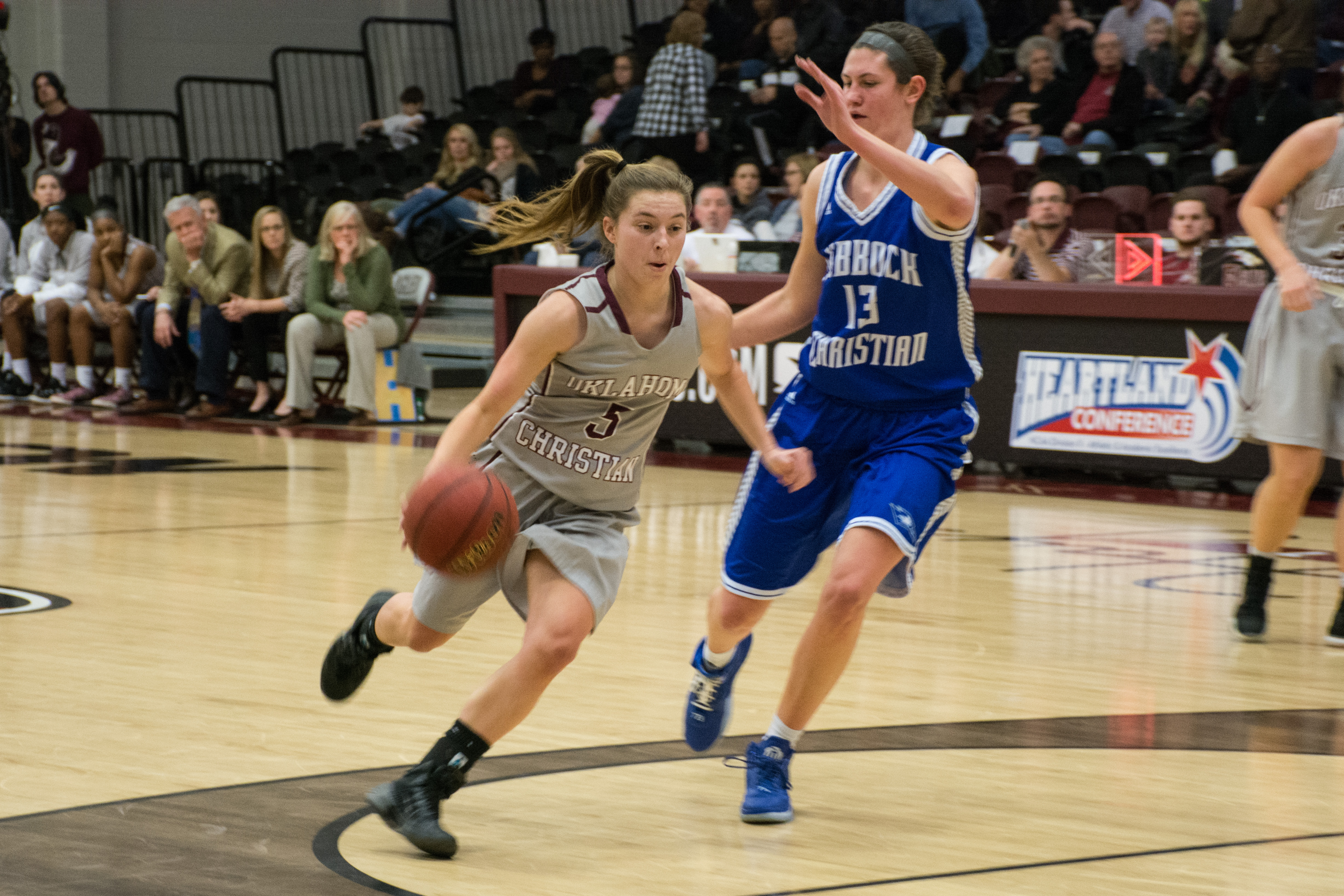 Addy Clift and the Oklahoma Christian Lady Eagles return to open play this week. Photo by Abby Bellow.
