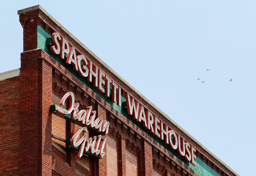 Spaghetti Warehouse closed its doors in Oklahoma City on Feb. 2.  Photo by Laura Twagirayezu