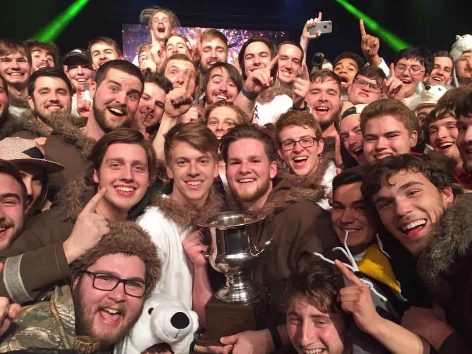 Chi Lambda Phi won first place in Spring Sing. Photo submitted.