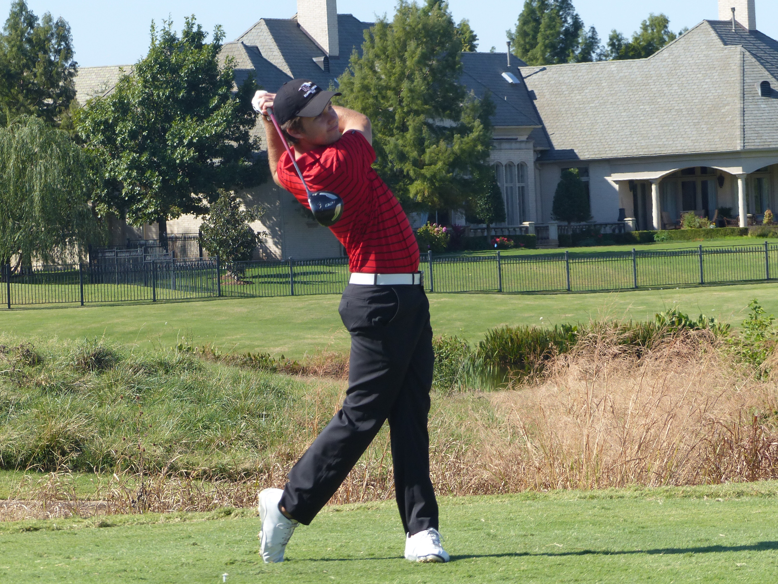 Alejandro Valenzuela tied for 12th at the Broncho Invitational on March 21 and 22. Photo by Murray Evans.