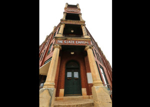 Century-old Guthrie building to be renovated into a museum. Online photo