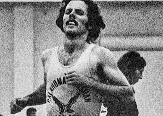Ron Strangeland Three-time All-American and two-time national champion in track/cross  Submitted photo