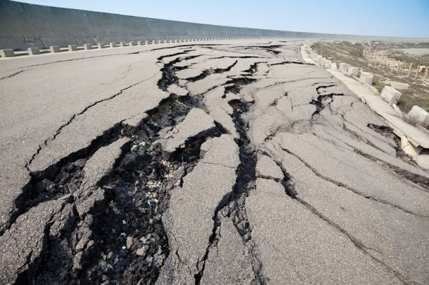 Earthquakes increase in frequency and intensity throughout the state of Oklahoma. Online photo