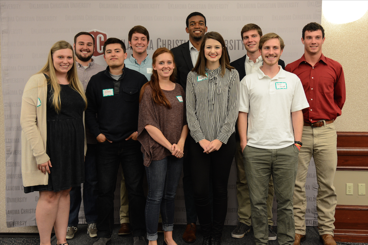 The College of Biblical Studies announced its award recipients at a luncheon on Tuesday. Photo by David Waldo