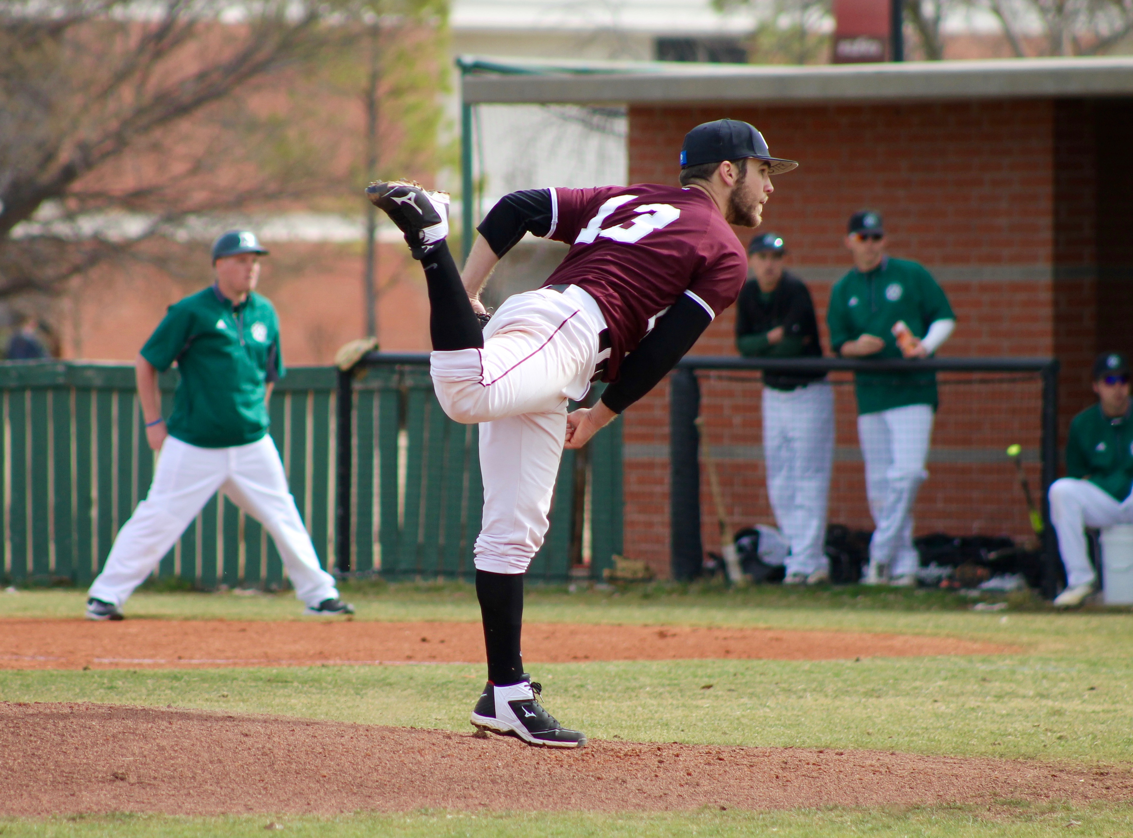 Oklahoma Christian baseball team finished 30-22 last spring. Photo by Allyson Hazelrigg.