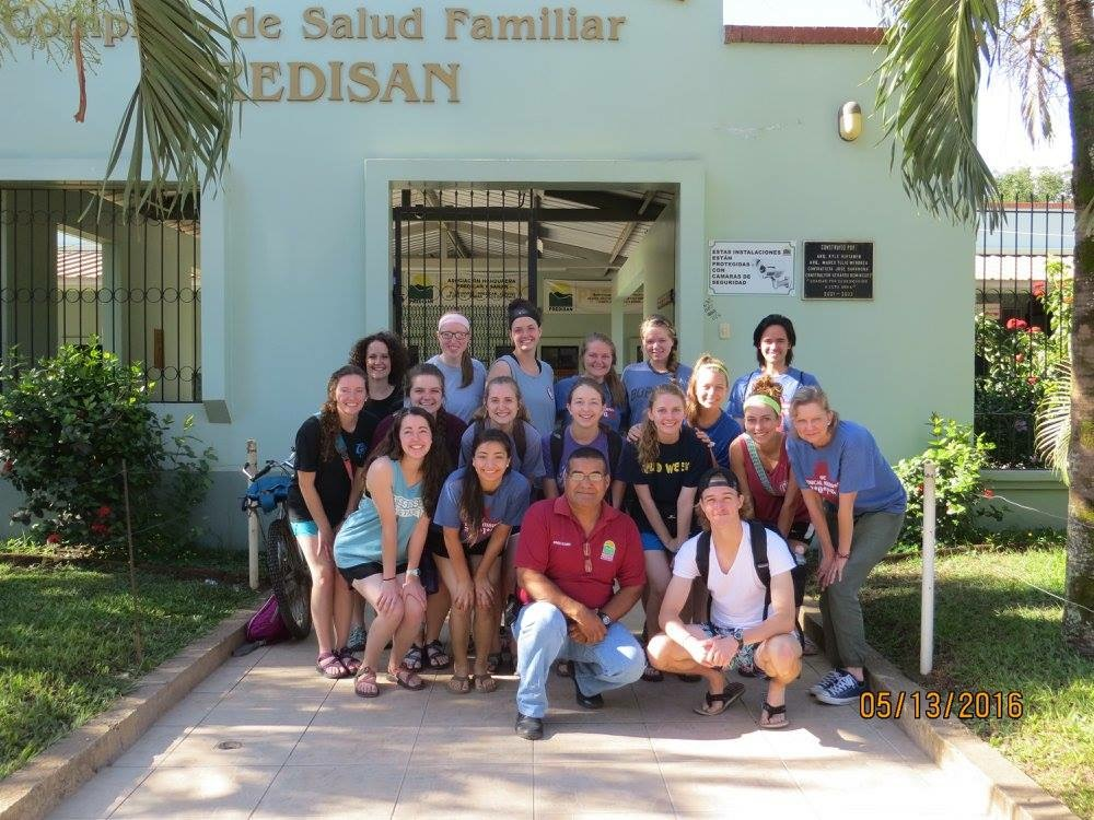 Paige Green and other OC nursing students participated in HonduraServe, a summer mission trip to Honduras. Submitted photo.