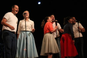 Oklahoma Christian employees kick off the new year with the 40th annual First Week Follies. Photo by Jenny Rigney.