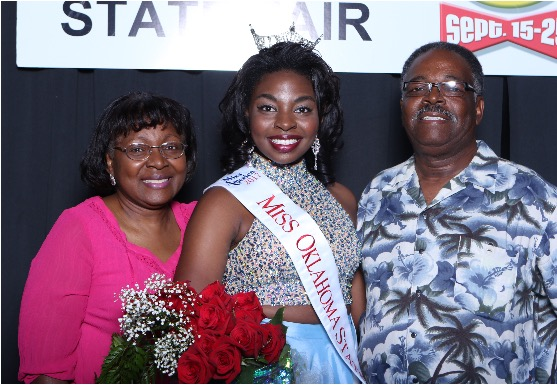 Oklahoma Christian junior Janet Pugh won Miss Oklahoma State Fair September 10th. Submitted Photo.