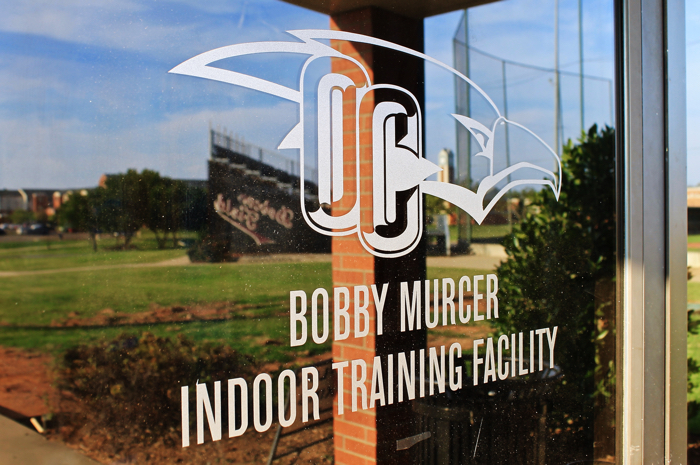 The baseball team is having to practice and train off campus due to code violations prohibiting use of the Bobby Mercer Facility. Photo by Allyson Hazellrigg.