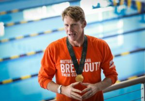 Olympic medalist Josh Davis is the head coach for the new swim program at Oklahoma Christian. Online photo.