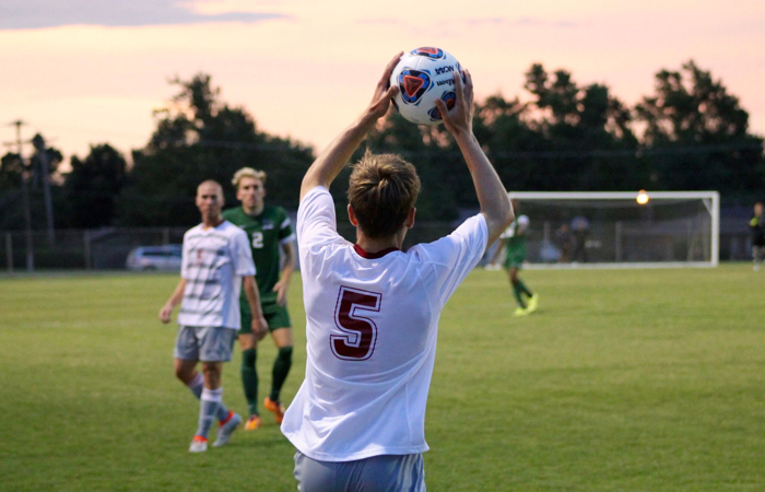 Oklahoma Christian's mens soccer team will return home after a two loss streak this past week. Photo by Jenny Rigney.