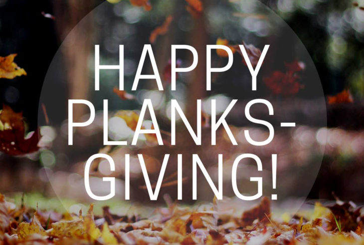 Body and Soul Fitness offers free 'Planksgiving' class at OC. Online Photo.