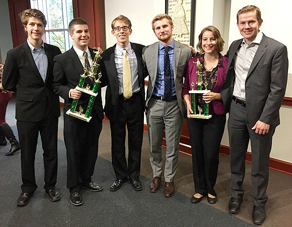OC Ethics Team advances to Nationals. Online photo.