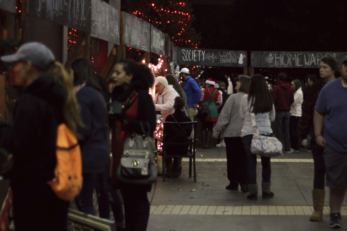 Annual Soundings Christmas Market. Photo by Megan Madison.