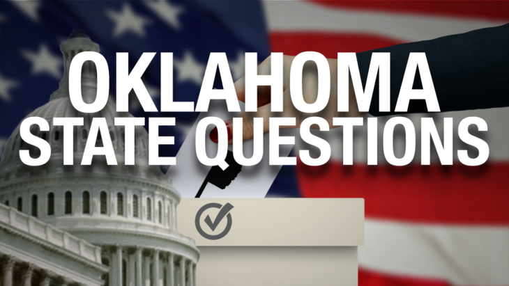 Recap: Oklahoma passed four of the seven State Questions on the ballot last Tuesday. Online Photo.