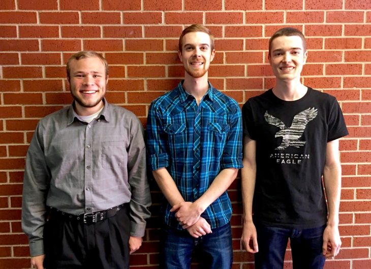 OC programming team places 1st among Oklahoma schools, 11th overall. Photo by Jake Whiteley.
