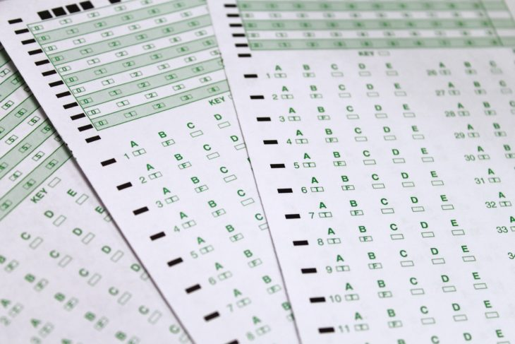 Students will no longer be taking tests by scantron. Photo by Allyson Hazelrigg.