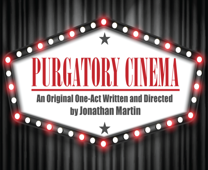 """Purgatory Cinema"" opens Friday at 8 p.m. in Judd Theater. Poster designed by Laura Smethers."