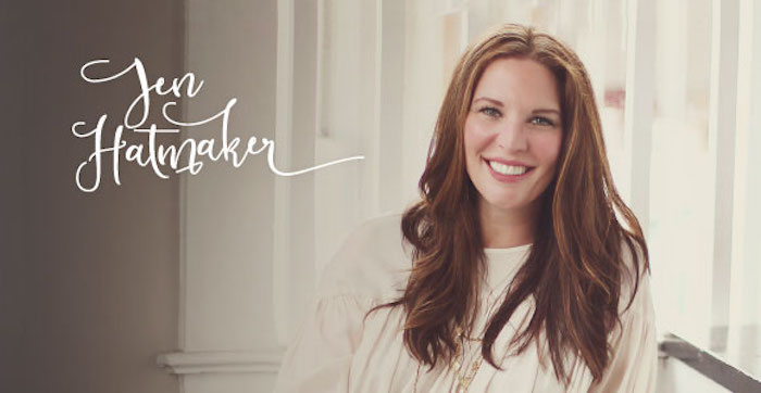 Jen Hatmaker will be speaking on the Oklahoma Christian campus Jan. 23.  Online photo.