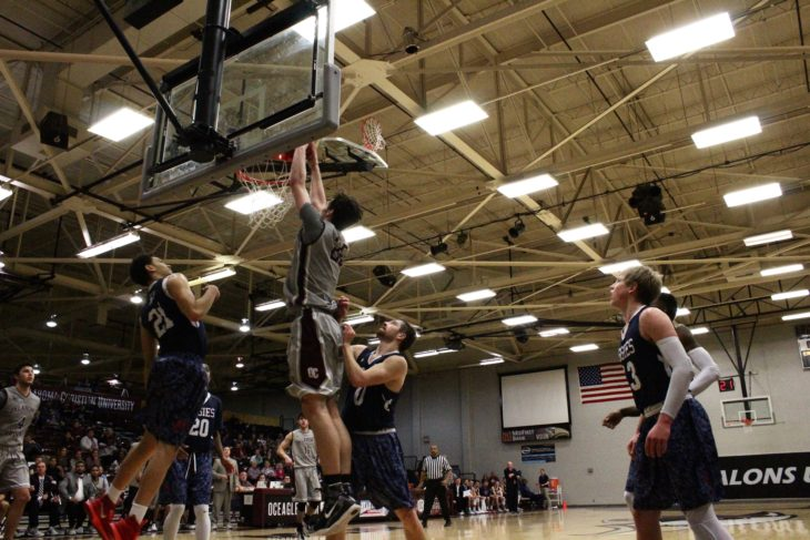 The Oklahoma Christian Eagles basketball team ended their eight game losing streak last week. Photo by Jenny Rigney.