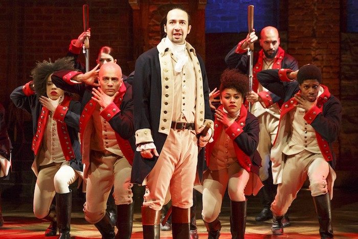"The national tour of ""Hamilton"" will visit Oklahoma City in the 2018-19 season. Online photo."