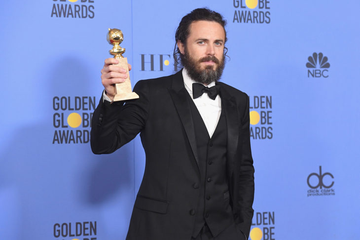 Casey Affleck won the 2017 Golden Globe for Best Actor in a Drama. Photo from NBC.com.