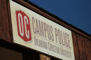 The Oklahoma Christian Campus Police is always working to keep safety standards up to date. Photo by Jenny Rigney.