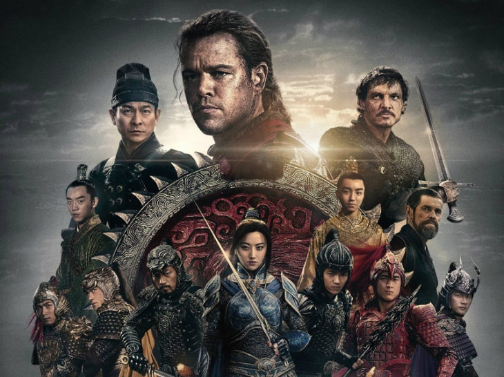 """The Great Wall"" opened in China on December 15, 2016, and has grossed $224 million worldwide. Photo from Legendary Pictures."