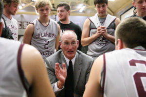 Dan Hayes, the former men's basketball coach, is being honored April 2nd. Photo by Steven Christy.