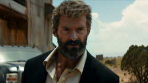 "Oscar-nominee Hugh Jackman stars as Logan, the Wolverine, in ""Logan,"" opening in theaters today. Photo from Twentieth Century Fox."