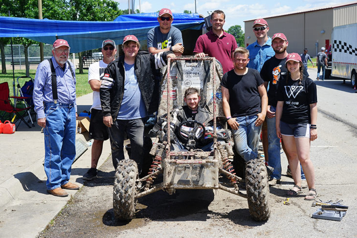 SGA gave a group of Oklahoma Christian students funds to compete in a national SAE baja competition. Photo by Lance Littlewood.