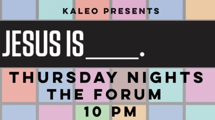 Oklahoma Christian's newest Kudo-approved event, KALEO, takes place Thursday nights at 10 p.m. Online Photo.