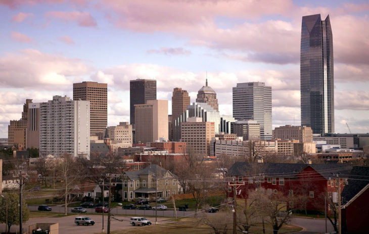 Oklahoma City was ranked one of the most successful places to find a job in the country. Online photo.