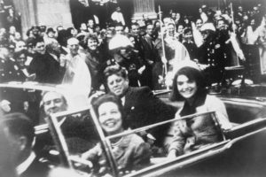 President John F. Kennedy on the day of his assassination. Online Photo.
