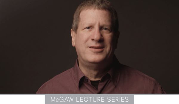 Lee Strobel spoke Nov. 13 at Oklahoma Christian University as part of the McGaw lecture series.